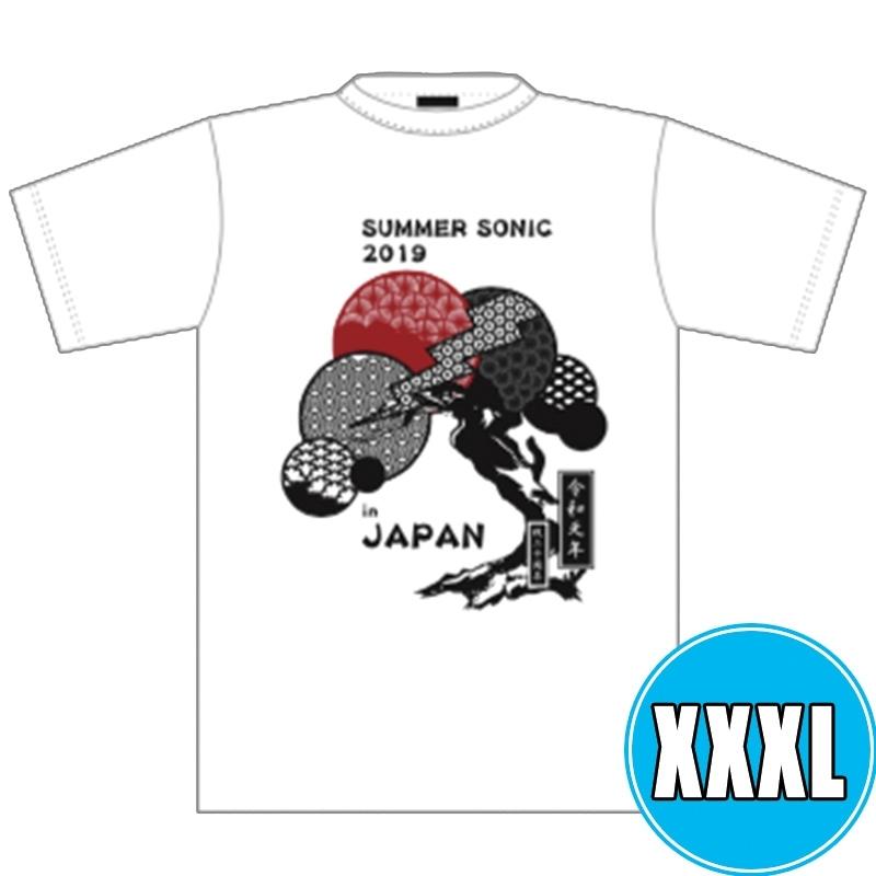 和風Tシャツ WHITE (XXXL)※事後販売分