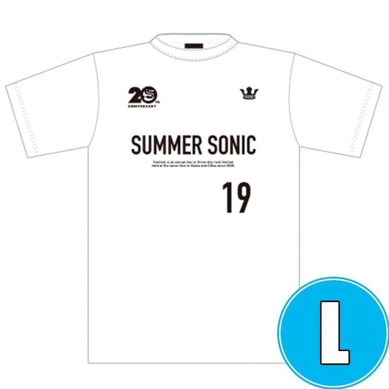 ドライTシャツ WHITE (L)※事後販売分