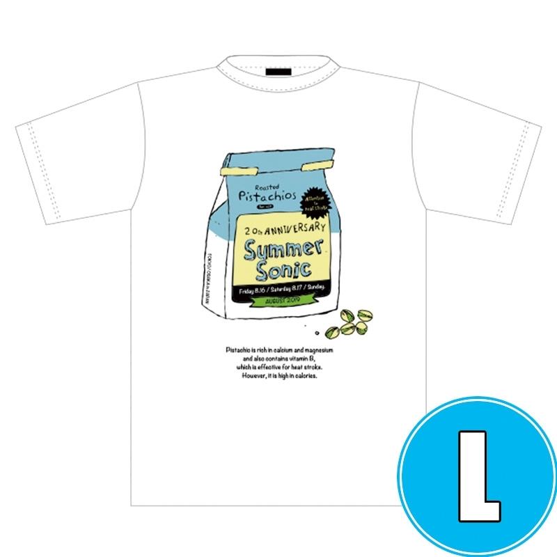 ピスタチオTシャツ WHITE (L)※事後販売分