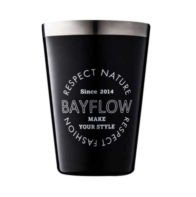 BAYFLOW LOGO TUMBLER BOOK BLACK
