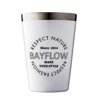 BAYFLOW LOGO TUMBLER BOOK WHITE 画像