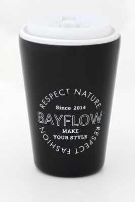 BAYFLOW CUP COFFEE TUMBLER BOOK MATTE BLACK 付録