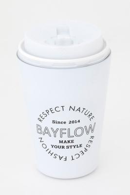 BAYFLOW CUP COFFEE TUMBLER BOOK MATTE WHITE 付録