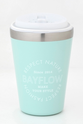 BAYFLOW CUP COFFEE TUMBLER BOOK SEA BLUE 付録