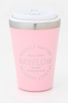 BAYFLOW CUP COFFEE TUMBLER BOOK SEASHELL PINK 付録