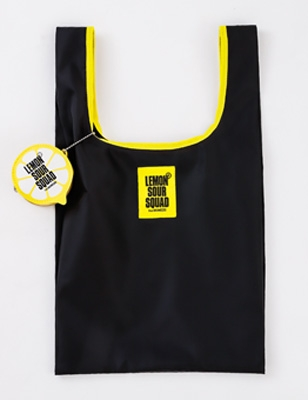 EXILE公式 LEMON SOUR SQUAD レモンポーチつき SHOPPING BAG BOOK BLACK 付録