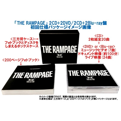 the rampage 夢 小説