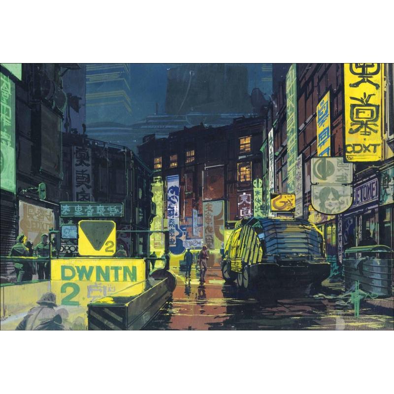 シド ミード ムービーアート the movie art of syd mead visual