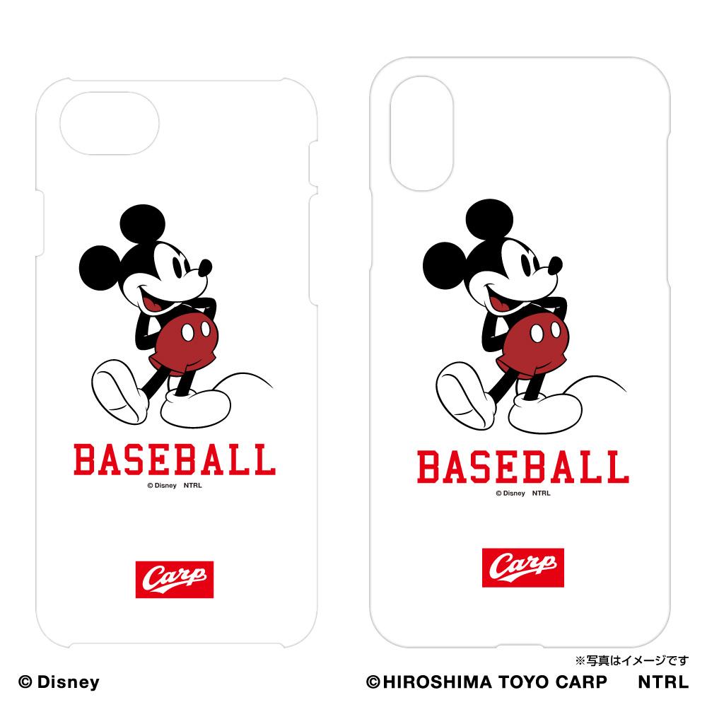 広島東洋カープ×ミッキーマウス iPhoneケース