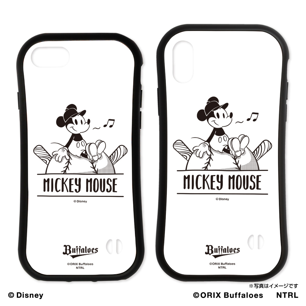 オリックス・バファローズ×ミッキーマウス iPhoneラバーエッジ