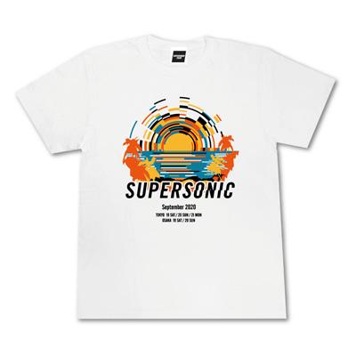 メインTシャツ ‐サンセット‐ ホワイト