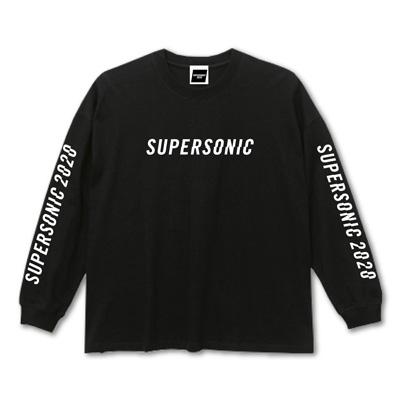 ロングスリーブTシャツ ‐A‐ ブラック
