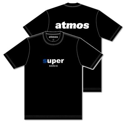 SUPERSONIC×atmos コラボTシャツ ブラック