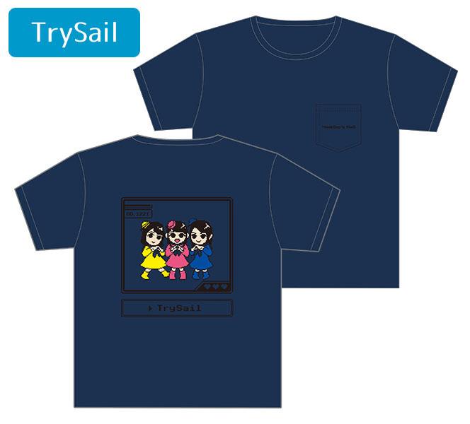 ミュージックレインモールオープン記念Tシャツ[TrySail]