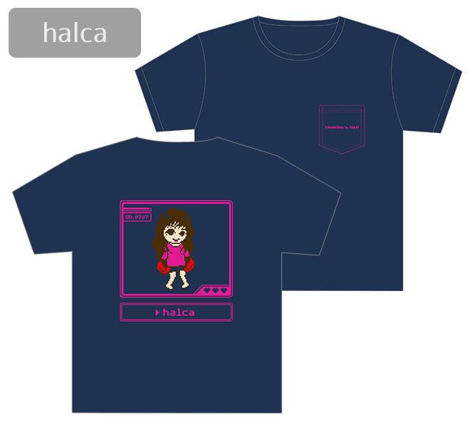 ミュージックレインモールオープン記念Tシャツ[halca]