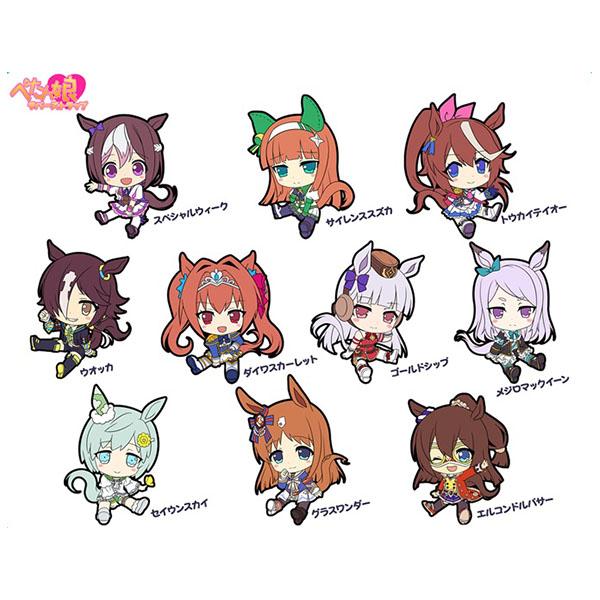 ぺたん娘トレーディングラバーストラップ(10個入り1BOX)