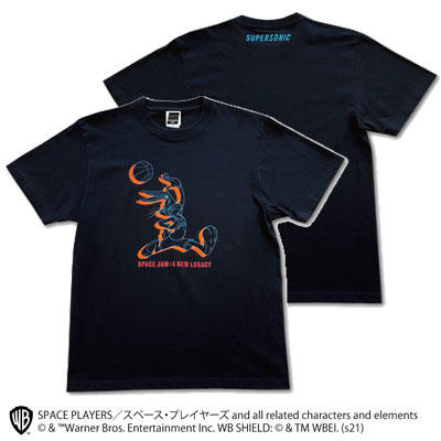 SUPERSONIC <SPACE PLAYERS>コラボ Tシャツ ブラック
