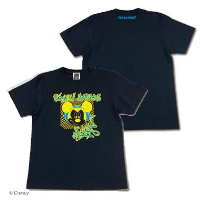 SUPERSONIC <MICKEY> Tシャツ ブラック