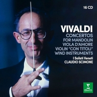 クラウディオ・シモーネ/ヴィヴァルディ:協奏曲集(16CD)