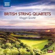 マッジーニ四重奏団/イギリスの弦楽四重奏曲集(20CD)
