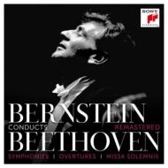 バーンスタイン&NYP/ベートーヴェン:交響曲全集、序曲集、ミサ・ソレムニス(10CD)