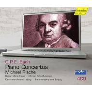 ミヒャエル・リシェ/C.P.E.バッハ:ピアノ協奏曲集(4CD)