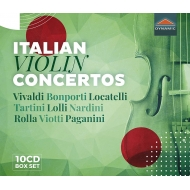 イタリアのヴァイオリン協奏曲集(10CD)