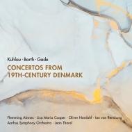 19世紀デンマークの協奏曲集