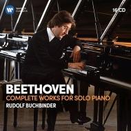 ブッフビンダー/ベートーヴェン:ピアノ独奏作品全集(16CD)