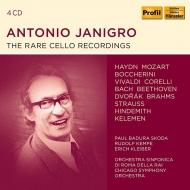 アントニオ・ヤニグロ/レア音源集(4CD)