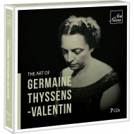 【発売】ジェルメーヌ・ティッサン=ヴァランタンの芸術(7CD)
