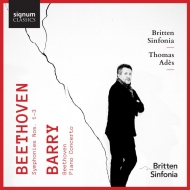 トマス・アデス/ベートーヴェン:交響曲第1〜3番