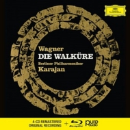 カラヤン&ベルリン・フィル/ワーグナー:『ワルキューレ』(4CD+BD...