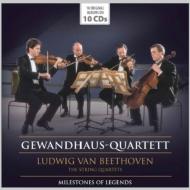 ゲヴァントハウス四重奏団/ベートーヴェン:弦楽四重奏曲全集(10CD)