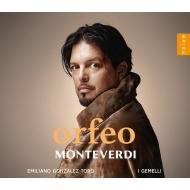 ゴンザレス=トロ/モンテヴェルディ:『オルフェオ』(2CD)