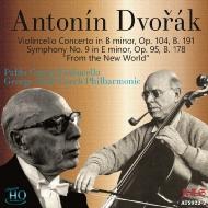 カザルス、セル&チェコ・フィル/ドヴォルザーク:チェロ協奏曲、『新世界...