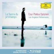 サロネン/『春の祭典』、『中国の不思議な役人』組曲、他(CD+BDA)