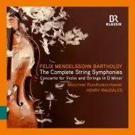 ラウダレス&ミュンヘン放送管/メンデルスゾーン:弦楽のための交響曲全集...