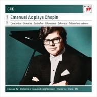 アックス/ショパン:ピアノ協奏曲第1番、第2番、他(6CD)