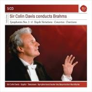 デイヴィス/ブラームス:交響曲全集、管弦楽曲集、協奏曲集(5CD)