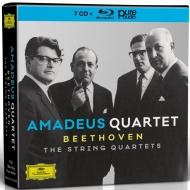 アマデウス四重奏団/ベートーヴェン:弦楽四重奏曲全集(7CD+BDA)