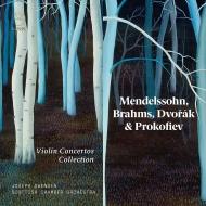 ジョセフ・スウェンセン/ヴァイオリン協奏曲コレクション(4CD)
