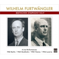 フルトヴェングラー、4種の『第九』(ターラ編)(4CD)
