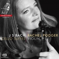 ポッジャー/ヴァイオリン版、バッハ:無伴奏チェロ組曲全曲
