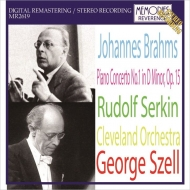 【入荷】R.ゼルキン、セル&クリーヴランド管/ブラームス:ピアノ協奏曲...