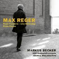 マルクス・ベッカー/レーガー:ピアノ協奏曲、他