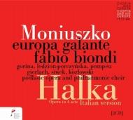 ビオンディ/モニューシュコ:歌劇『ハルカ』(イタリア語版)