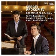 ホロデンコ/プロコフィエフ:ピアノ協奏曲第1、3、4番