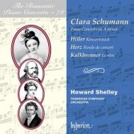 ハワード・シェリー/クララ・シューマン:ピアノ協奏曲、他