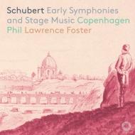 フォスター&コペンハーゲン・フィル/シューベルト:交響曲第1〜3番、他